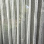 linnen transparant plooi gordijn